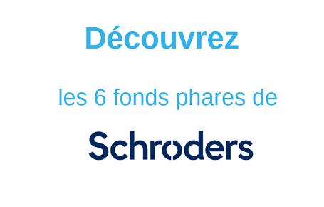 D�couvrez les 6 fonds phares de Schroders commercialis�s sur EasyBourse