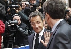 N. Sarkozy veut assujettir les socits du CAC 40  un  impt minimum 