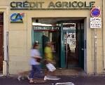 Cac 40 : Cr�dit Agricole chute de plus de 5%, les investisseurs craignent une nouvelle amende �manant des Etats-Unis