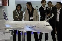 EADS: premier vol de l'A350 avant le Bourget