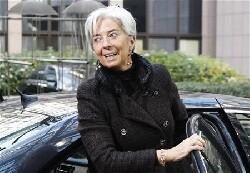 Christine Lagarde maintenue à la tête du FMI