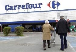 Carrefour a meilleure mine